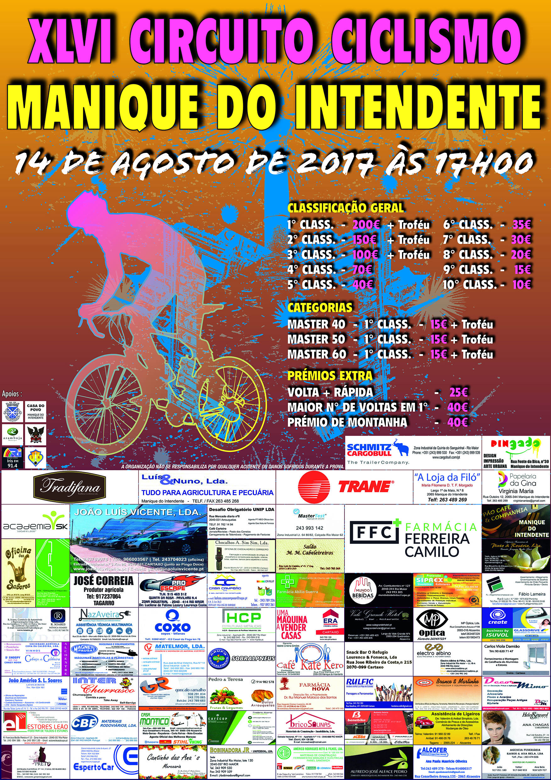 20170814 Manique Cartaz Ciclismo